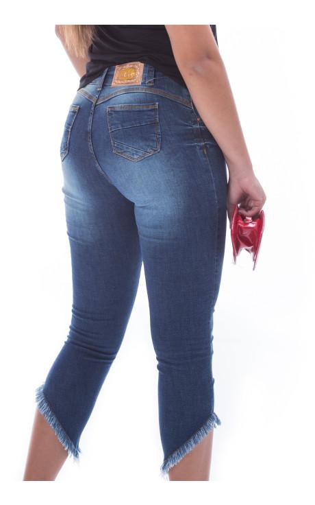 Calça Destroyed Feminina