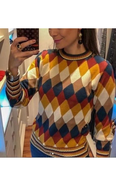 tricot escocesa