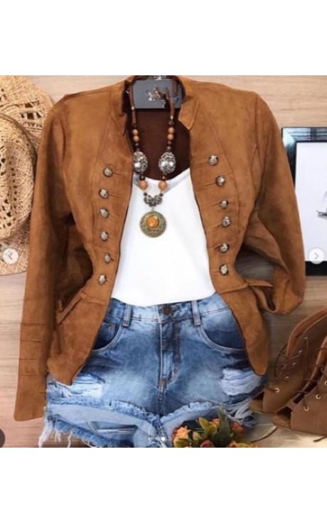 jaqueta camurça