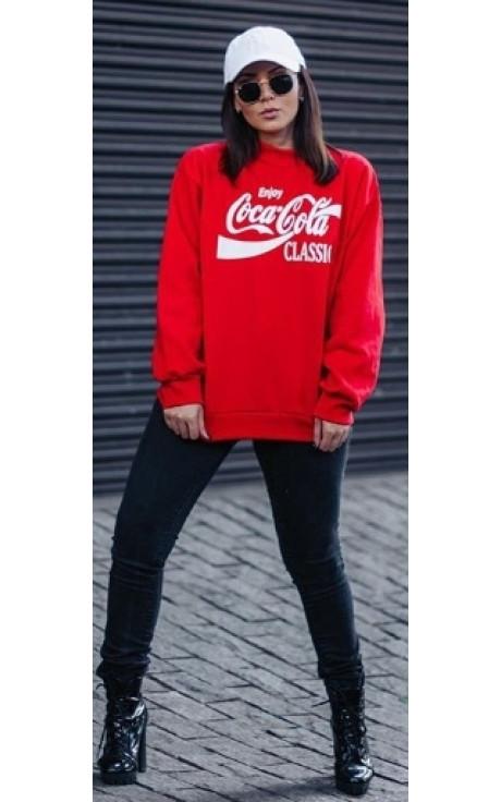moletom coca cola