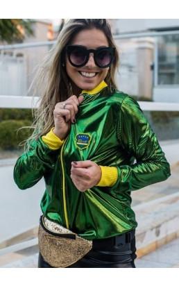Jaqueta Bomber Brasil