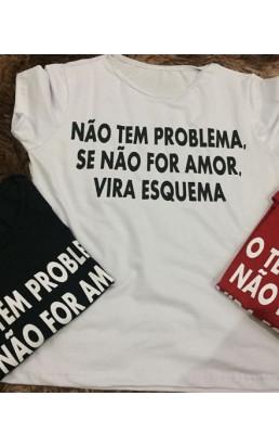 T Shirt Se não for amor